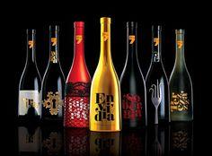 Colección Vinos Siete Pecados #botellas #spain #bottle #packaging #vino #design #sins #siete #pecados #rioja #wines