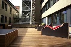 Green Superbude Hotel in Hamburg Design by Dreimeta Galleries and Ideas #interior #design #decor #home #furniture #architecture