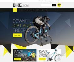 Prestashop Bikes Store Theme