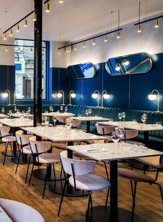 Biasol Converts 1870s Warehouse into Restaurant and Cocktail Bar in Clerkenwell, London 1