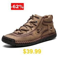 Super #Fiber #Large #Size #Breathable #Men #Outdoor #Casual #Shoes #- #DARK #KHAKI
