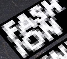 NTU GFW 2011 : Andrew Townsend #pattern #pixel