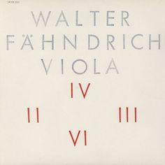 Walter Fahndrich : Viola