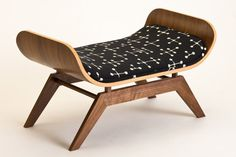 The Canopy Lounge in Eames Dots #modern #cat #mid #bed #century #eames