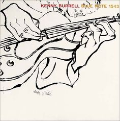 Kenny Burrell, Blue Note 1543, Andy Warhol