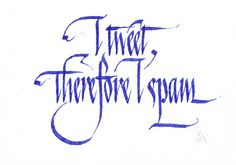 Bill Grant #calligraphy #typography
