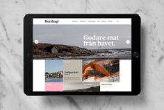 Korshags by Kurppa Hosk #brand design #website