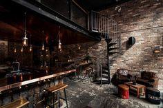 Donny's Bar by Luchetti Krelle - www.homeworlddesign.com (17) #bar #loft design #sydney