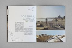 Dwell Coastal Cities Revisited on Behance #print #design #spread #dwell #layout