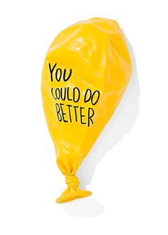 always #balloon #typography #yellow #truth