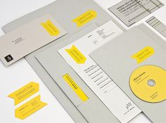 onestepcreative » Matjaz Cuk Visual Identity #branding #visual identity #business stationary