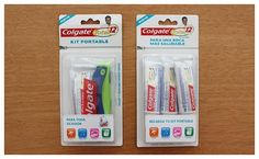 we are salto #portable #packaging #design #colgate #kit
