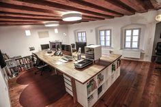 Unser neues Büro #office #workspace #desk #inspiration
