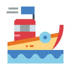 See more icon inspiration related to boat, ship, ocean, transportation, travelling and transport on Flaticon.