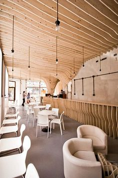 Zmianatematu Coffee Shop by XM3 5 #interior #timber