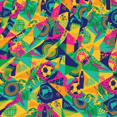 Pepsi Beats Of The Beautiful Game on Behance #pattern