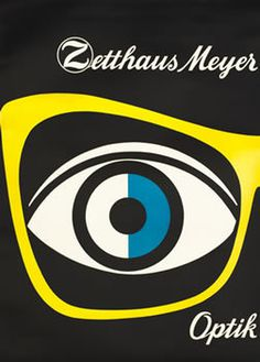 Zetthaus Meyer Optik by Kirchgraber | Vintage Posters at International Poster Gallery #poster