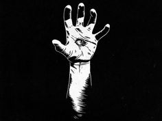 hand, eye