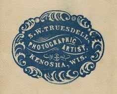 Cafe Cartolina: Vintage ephemera - from the Café archives #logo #vintage #typography