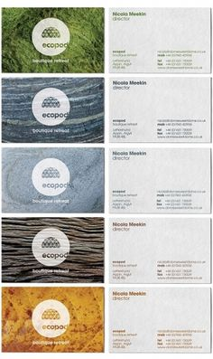 Ecopod | Identity Designed #stationery