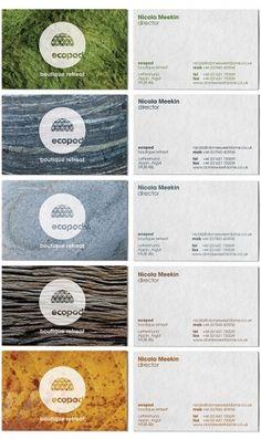 Ecopod | Identity Designed #stationery