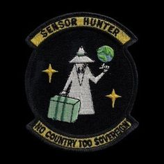 SPY VS SPY SENSOR HUNTER #spy #patch #military #covert