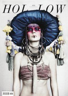 All Hollow (Bucarest, Roumanie / Romania) #design #graphic #cover #fashion #editorial #magazine