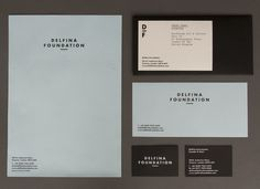 Delfina Foundation designed by Spin #branding