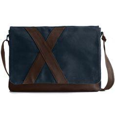 #nevend - azul #darkblue #bag #messenger #shoulderbag #plain #caftan #simplicity