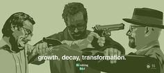 Growth, Decay, Transformation. By: Nick Spanos