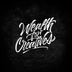 Wealth for creatives