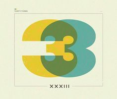 Nathan Godding #numbers #typography