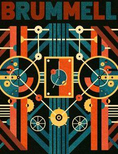 Brummell Thumb - Ben Newman Illustration #inspiration #lettering #design #graphic