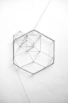 Pinned Image #geometry #sculpture #pattern #3d