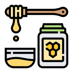 See more icon inspiration related to honey, bee, sweet, food, food and restaurant, farming and gardening, organic, jar, pot and healthy on Flaticon.