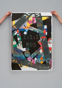 Richard Niessen & Esther de Vries (Amsterdam, The Netherlands) #type #collage #poster