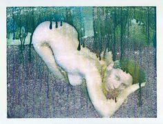 gabriel-bitar // #monotype #monotipia #art #painting