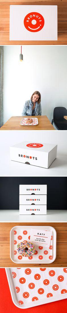Bronuts Brand Identity - One Plus One Design #Brand #Identity #BrandIdentity #Branding