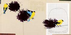 3 suoni | calzinispaiati #paint #digital #illustration