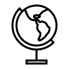 See more icon inspiration related to global, geography, worldwide, planet earth and Maps and Flags on Flaticon.