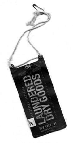 ferks #fashion #design #hangtag #typography