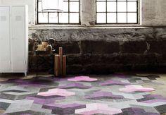 Wing Flooring Tile by Bolon