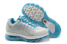 Womens Air Max 95 360 White Blue Shoes