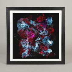 Was Made of Matter Michael Cina Art #white #red #black #painting #art