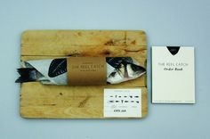 jesse harris | mint #packaging #wood #fish