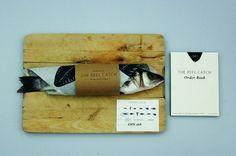 jesse harris | mint #packaging #wood #fish