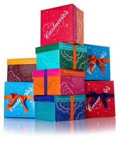 Carluccio's Panettone Boxes | Irving #packaging #italian
