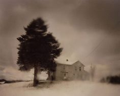 Todd Hido: Excerpts from Silver Meadows [SIGNED] #hido #todd #snow #landscape #rain #photography