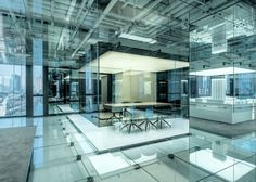 AIM Architecture for Soho China #interior #office #design #glass #architecture
