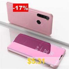 Flip #Mirror #Full #Body #Phone #Case #for #Xiaomi #Redmi #Note #8 #- #ROSE